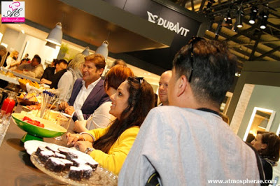 Catering Fiere Atmospherae Bologna stand Duravit bar