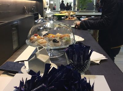 Catering Fiere Atmospherae Bologna stand Duravit buffet 3