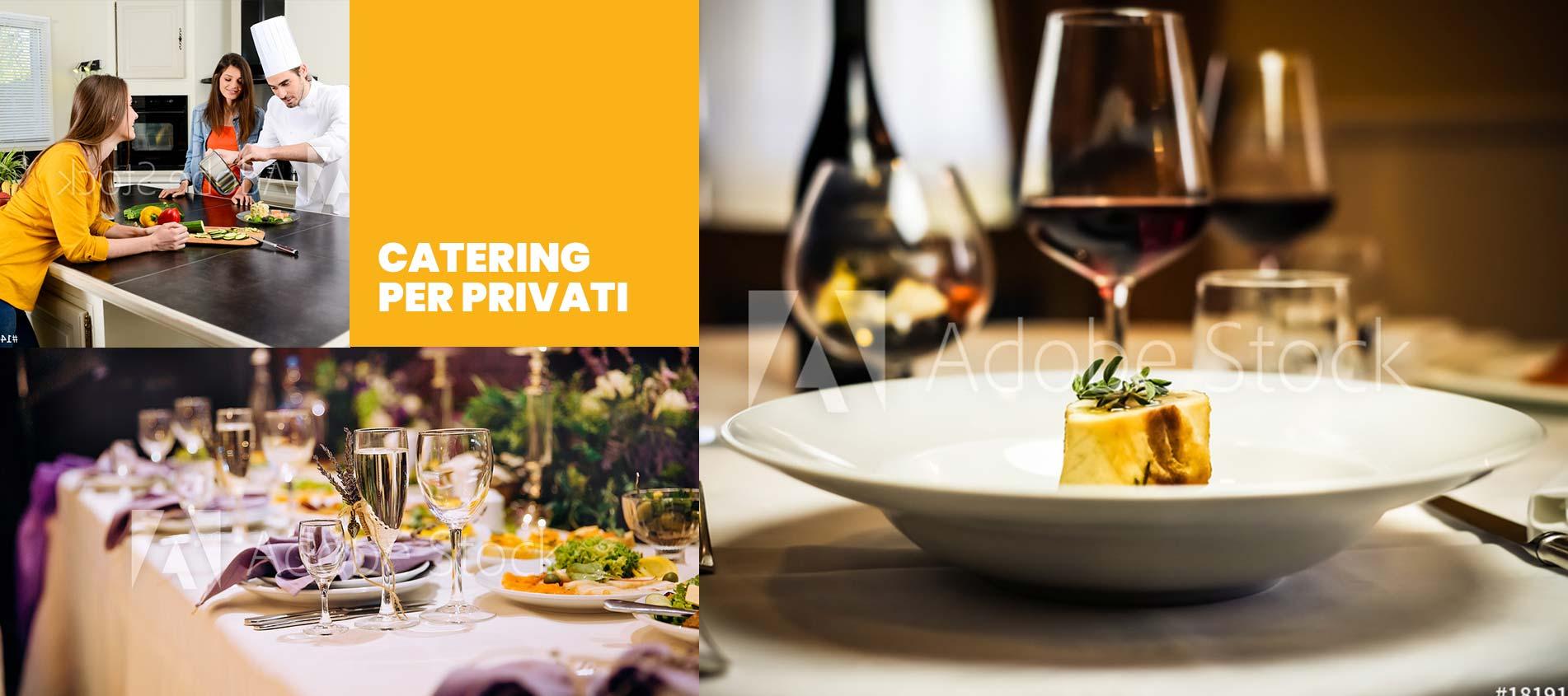 Catering per eventi privati