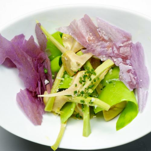 _Atmospherae Catering da Asporto salade di carciofi conditi con bufala