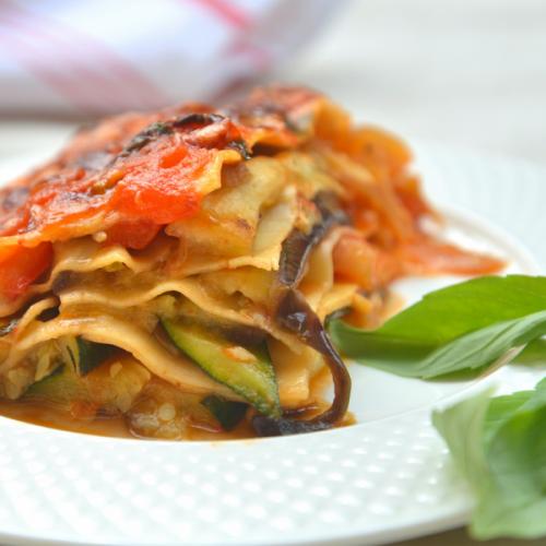 Lasagne di verdure Atmospherae Catering Bologna