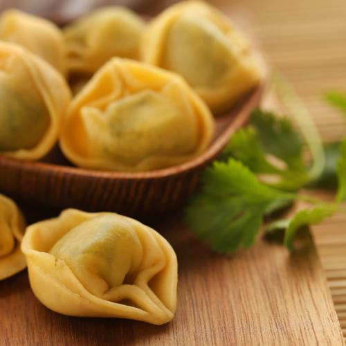 Tortelloni ricotta e prezzemolo Atmospherae Catering Bologna