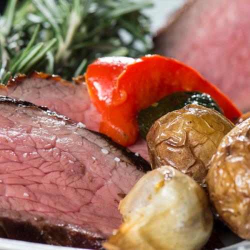 roast beef tuberi al forno Atmospherae Catering Bologna