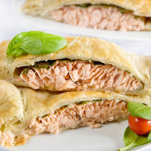 tortino al salmone Atmospherae Catering Bologna