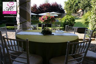 particolare dell'apparecchiatura dei tavoli er il giorno delle nozze-wedding