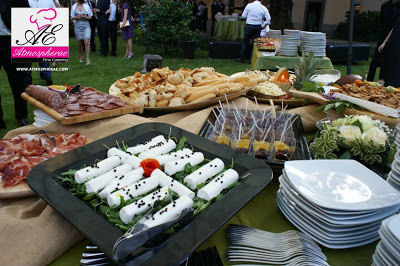 particolare fotografico del buffet